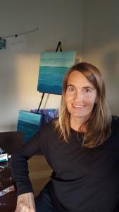 In the artist studio Colorado Melinda Driscoll