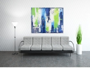 #abstractart affordable large art painting