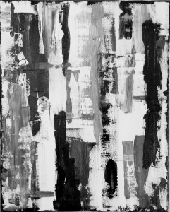 black and white abstract art original affordable etsy artist colorado