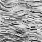 black and white abstract painting art large