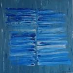 Abstract art healing water