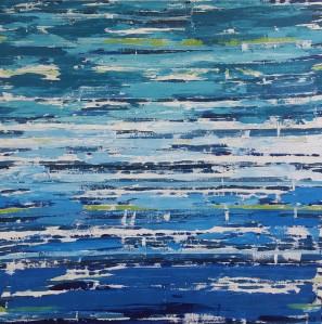 Abstract painting artist colorado melinda driscoll